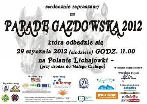 Parada Gazdowska 2012 Lichajówki