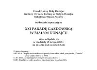 XXI Parada Gazdowska i Kumoterki w Białym Dunajcu
