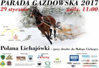 Parada Gazdowska 2017 w Poroninie